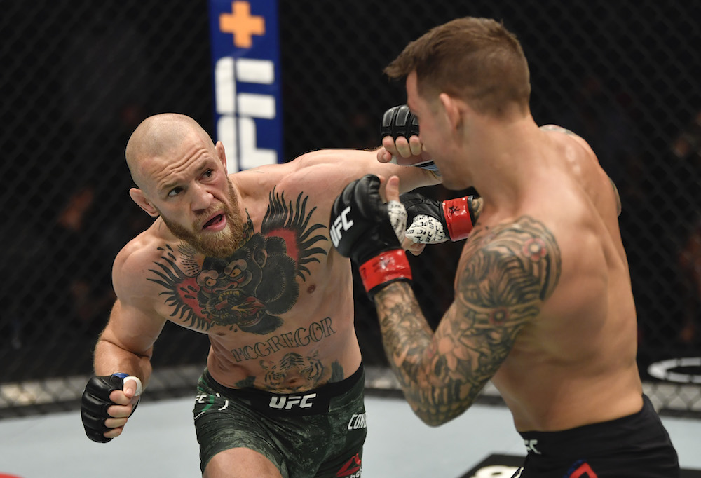 Conor McGregor Dustin Poirier UFC 264 Octagon Bet