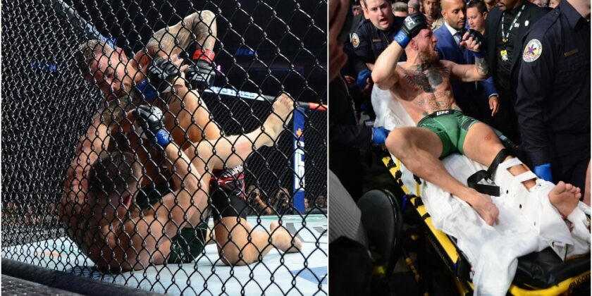 UFC 264 Results: Conor McGregor Breaks Leg, Carried Out on Stretcher – Dustin Poirier Wins Trilogy by TKO