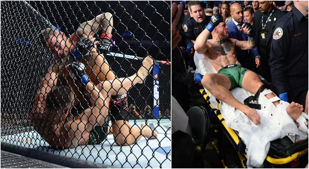 Conor McGregor Dustin Poirier UFC 264 Octagon.bet