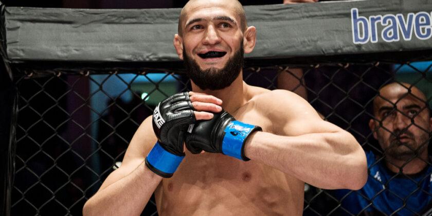 BREAKING NEWS: Khamzat Chimaev vs. Li Jingliang in the works for UFC 267