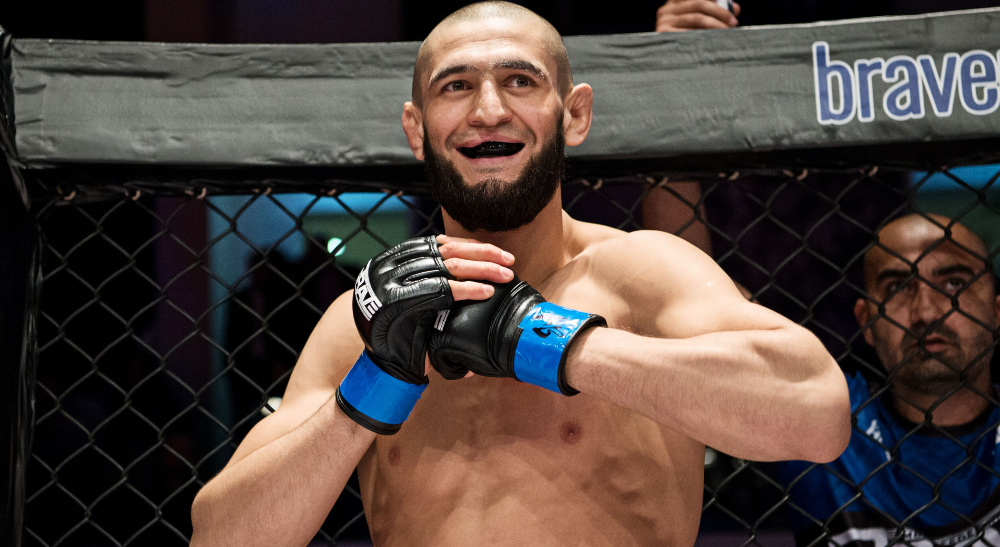 Khamzat Chimaev Li Jingliang UFC 267 Octagon.bet