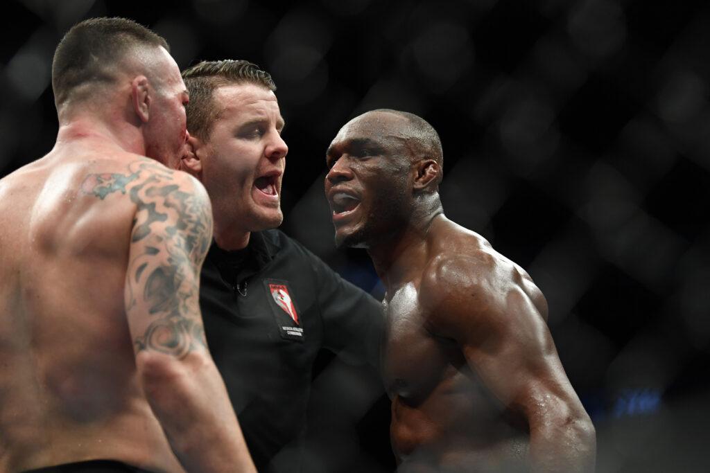 UFC 268 Kamaru Usman meets Colby Covington again