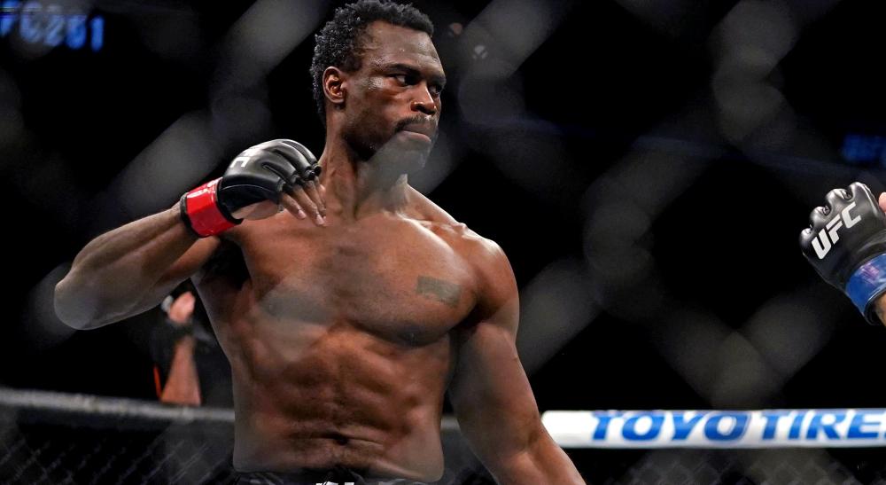 Uriah Hall Sean Strickland UFC Vegas 33 Fight Night MMA Frontkick Online